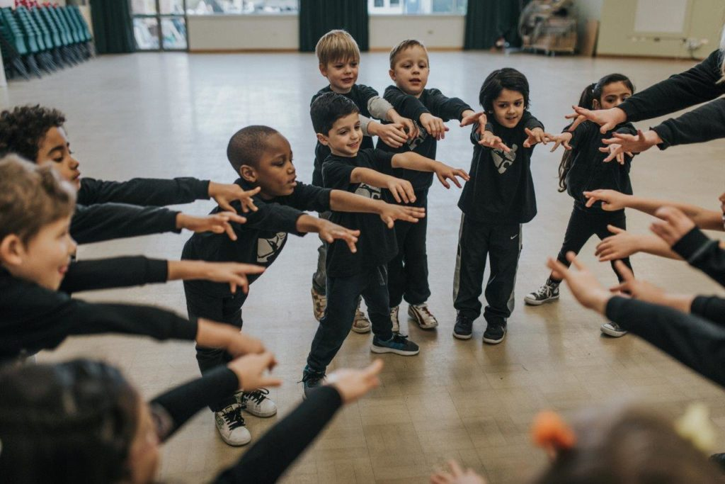 Jigsaw Performing Arts Child's social development blog post