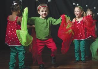 Skills children learn from performing arts