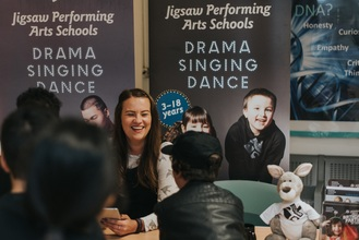 first day at Jigsaw Performing Arts Schools