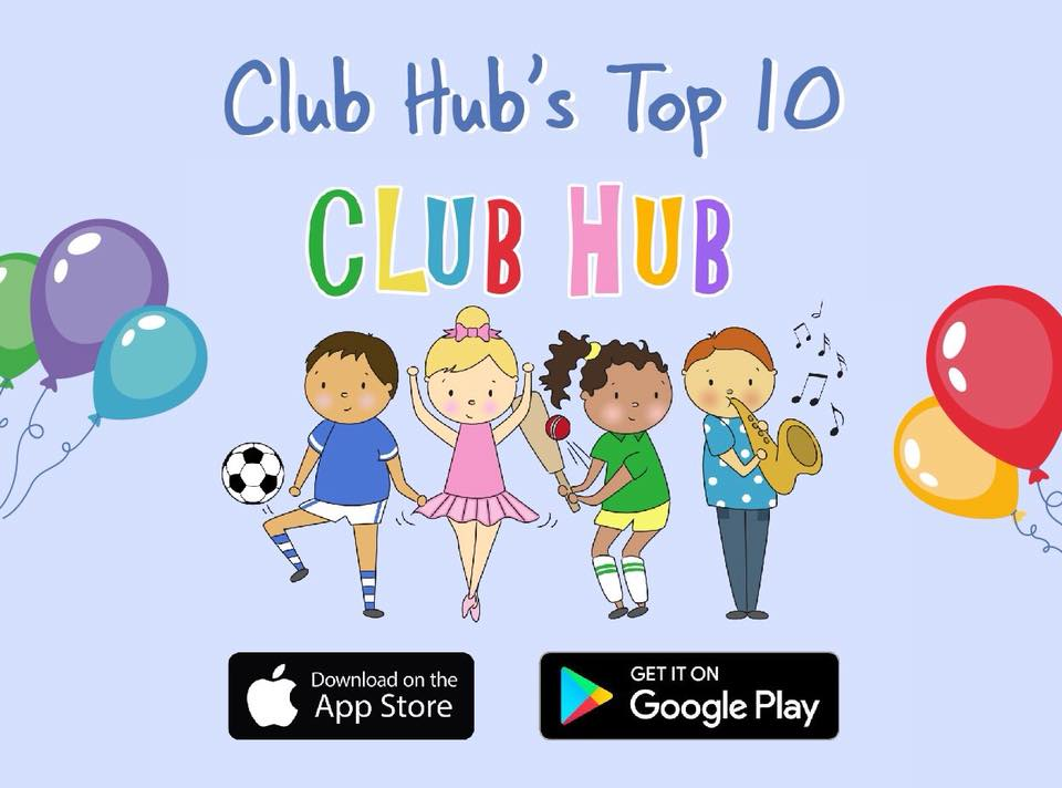 Clubhub top 10 Summer Holiday Kids Activites