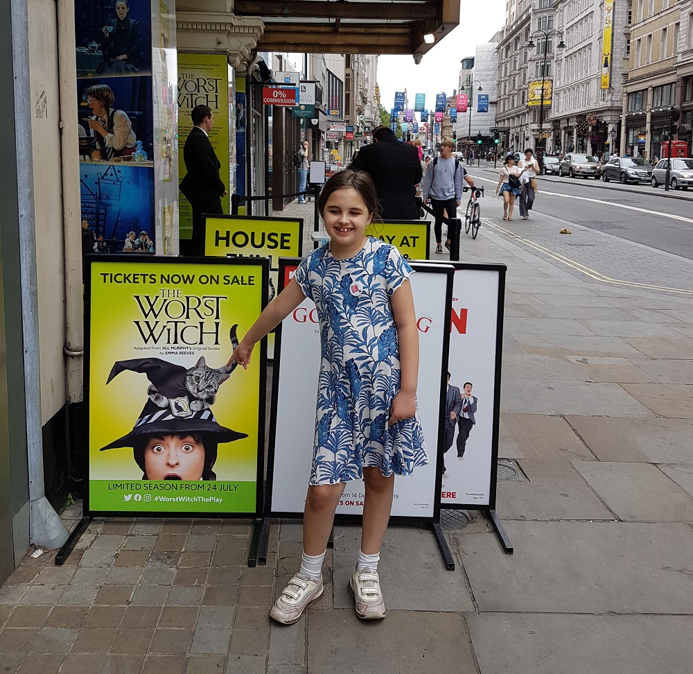 Jigsaw student The Worst Witch review