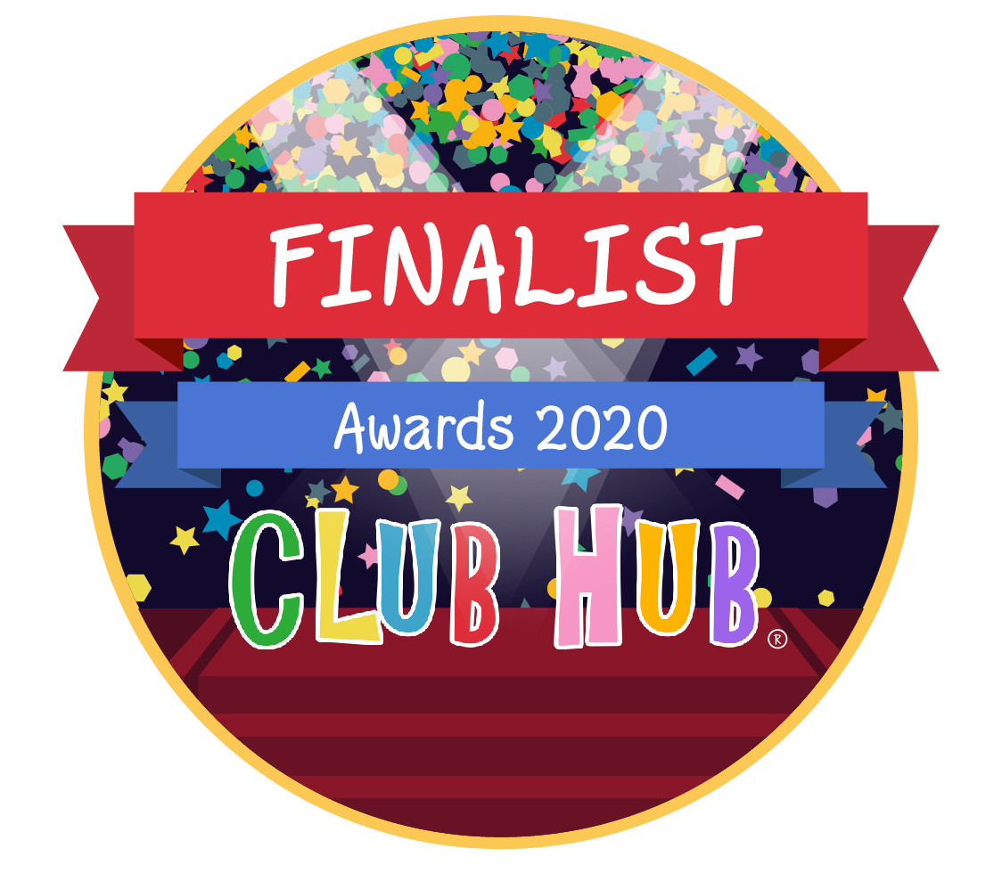 Club Hub Award Finalist badge